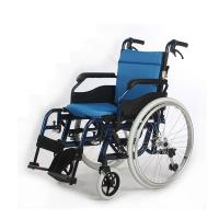 Wholesale Flip Up Arm Aluminum Manual Lightweight Wheelchairs With Swing Away Footrest from china suppliers