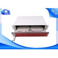 Wholesale PP - FC 48 Port Optical Fiber Patch Panel Fixed & Sliding Type For FTTH from china suppliers