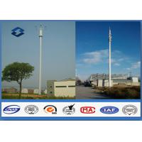 Wholesale Microwave Mobile Cell Phone Tower Telecommunication pole HDG & Powder Coated from china suppliers