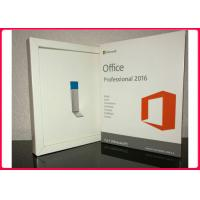 Wholesale Microsoft Office Professional Plus 2016 Retail Pack With 3.0 Usb Flash Drive 32/64 Bit For Windows from china suppliers