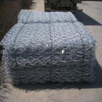 Wholesale Hot Dipped Galvanized Gabion Wire Mesh Rock Retaining Wall Environmental Friendly from china suppliers