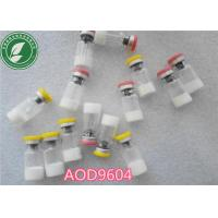 Buy cheap Pharmaceutical Raw Material Polypeptide Lyophilized Powder Aod-9604 from wholesalers