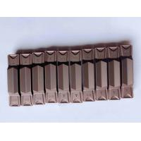 Wholesale Good Toughness Carbide Threading Inserts , Face Grooving Inserts For Hard Metal from china suppliers