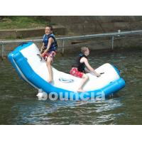 Wholesale Inflatable Water Totter With Stainless Steel Anchor Rings For Kids from china suppliers