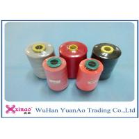 Wholesale 60s/2 Plastic Cone 100% Polyester Sewing Thread 10000m Brown Red Black Spun Yarn from china suppliers