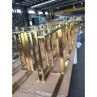 Wholesale High quality 304 316 custom made stainless steel furniture lets and parts manufacturers in Foshan from china suppliers