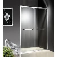 Wholesale 1200-2000X1950mm Double Sliding Glass Shower Doors , Shower Cubicle Doors With Double Wheels from china suppliers