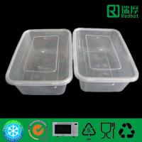 Quality Plastic food packaging container plastic lunch box 650ml for sale