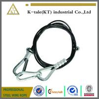 """Wholesale Mazzella Mechanical Splice Wire Rope Sling, Eye-and-Eye, 6 x 25 IWRC, 8' Length, 1/2"""" Diam from china suppliers"""