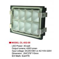 Wholesale WF2 IP65 DC 36V Gas Station LED Canopy Light 40 W CE FCC For Oil Plant from china suppliers