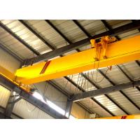 Wholesale 20 Ton Single Beam Overhead Crane / Industrial Bridge Cranes With Electric Hoist from china suppliers