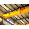 Buy cheap 20 Ton Single Beam Overhead Crane / Industrial Bridge Cranes With Electric Hoist from wholesalers