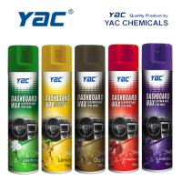 Wholesale Car Care Car Dashboard Wax Aerosol Spray with High Shine for Leather Cleaning from china suppliers