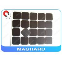 Wholesale Square Flexible Rubber Magnet Sheets With Adhesive Diecut 4R 45 * 45 * 0.8mm from china suppliers