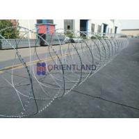 China 450mm/600mm/900mm Razor Barbed Wire Fencing For Garden Protection on sale