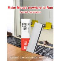 China 120*28cm Mouse Glue Board Sticky Big Rat Glue Trap Mice Rodent Snake Bugs Catcher Non-toxic Pest Control on sale