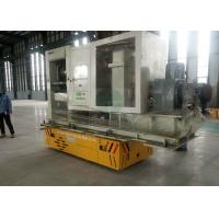Wholesale motorized trackless transfer vehicle for electrical control cabinet handling from china suppliers