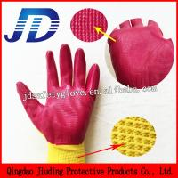 Buy cheap 13 Gauge seamless nitrile coating work gloves from wholesalers