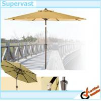 Wholesale Commercial Grade 9 Foot Tiltable Patio Market Umbrella / Tilt Outdoor Umbrellas from china suppliers
