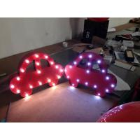 Wholesale Various Shape LED Letter Lights / Illuminated Sign Letters Battery Operated from china suppliers