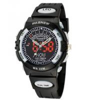 Buy cheap PASNEW Water-proof Boy and Girl Sport Watch Double Movement PSE-LED-004 from wholesalers