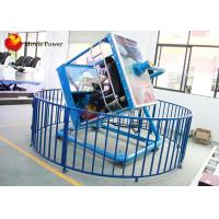 Wholesale Dynamic Control VR Flight Simulator With 360 Degrees Rotating Racks from china suppliers