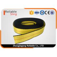 Wholesale American Standard Yellow 2 Inch Striped Ratchet Lashing Strap Flat Webbing from china suppliers
