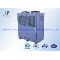 Wholesale Piston Cold Room Condensing Unit , Medium Temperature Compressor Rack from china suppliers