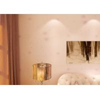 Wholesale Removable Interior Living Room Wallpaper with Purple Floral Pattern Light Purple from china suppliers