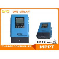 Wholesale 99% Max Efficiency MPPT Charge Controller CE Smart Solar Controller For Solar System from china suppliers
