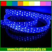 Wholesale High intensity 11x20mm 5 wires flat led rope light 110v/220v from china suppliers