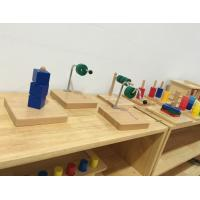 Wholesale Tiger Montessori - Horizontal Dowel Variation - Straight made of RUBBER wood with metal for toddler and infant from china suppliers