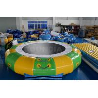 Giant Inflatable Floating Water Games / Sea Inflatable Aqua Park With Trampoline