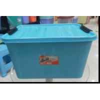 Wholesale GJ5597, Japanese Style Plastic Storage Crate, Red Blue White 55L Plastic Storage Box from china suppliers