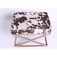 Wholesale Rose Golden Bedroom Upholstered Storage Bench Seats Comfortable Indoor Furniture from china suppliers