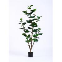 High Imitation 170cm Artificial Potted Plants , Artificial Ornamental Trees Silk Real Touch