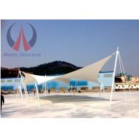 Wholesale Custom Lightweight Tensile Fabric Structures Canvas Covered Buildings UVA Resistant from china suppliers