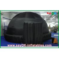 Buy cheap Black Round 5m Inflatable Dome Tent Oxford Cloth For Teaching from wholesalers