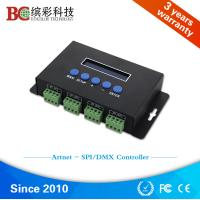 Wholesale BC-204 4 channels Ethernet to DMX SPI pixel light led controller from china suppliers