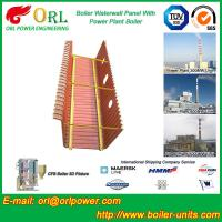 Wholesale Natural Gas Boiler Water Wall Panels Boiler Spare Part ASME Standard from china suppliers