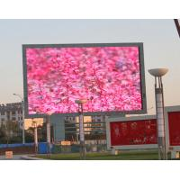 Wholesale IP65 DIP Full Color P10 Outdoor LED Screens Iron / Aluminum Cabinet 960*960mm from china suppliers