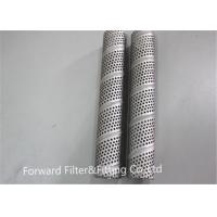 Quality 6 Inch 12 Inch Round Stainless Steel Perforated Metal Tube For Power Plant Hydration / Oil Filter for sale
