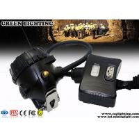 Quality Black IP68 LED Mining Light Semi - Corded Style Fireproof PC Material for sale