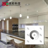 Quality Bincolor P1-010V 2 channels 86-style led 0-10V signal touch dimmer for sale