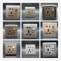 Buy cheap One Gang 5 in Switch Socket White is standard but any color available Control Button, Start Button, Limit Button from wholesalers