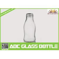 Wholesale Regular clear 250 ml glass bottles for juice from china suppliers