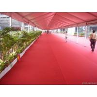 Wholesale High quality 500g 100% polyester plain style 1-4 meter width exhibition carpet for decorations/fairs/commercials/wedding from china suppliers