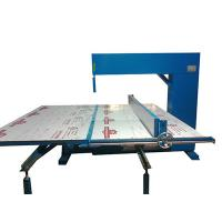 Buy cheap Vertical Polyurethane Memory Foam Cutting Machine Adjustable Speed Manual from wholesalers