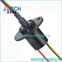 Wholesale 3 Wires Gold Gold Wind Turbine Slip Ring For Electromechanical System , Smoother Running from china suppliers