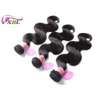 Wholesale Natural Colour Brazilian Virgin Hair Extension Unprocessed No Tangle 1B from china suppliers